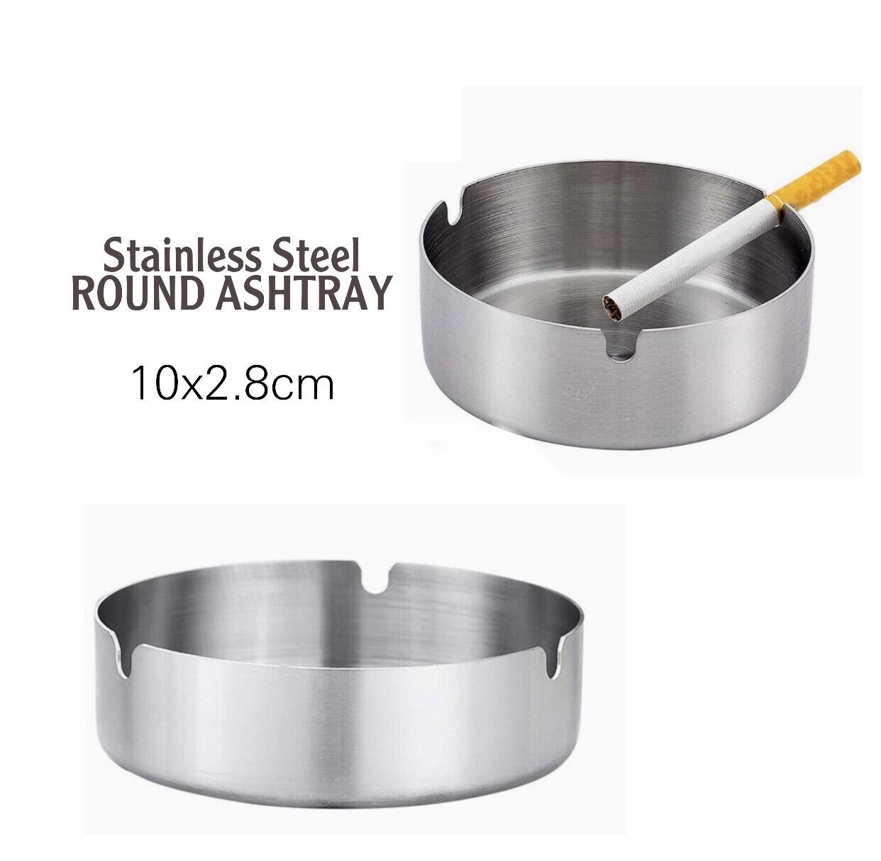 Round Heavy Ashtray