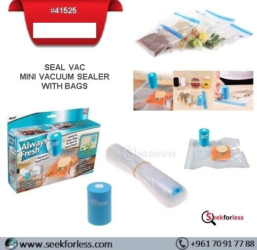 Seal Vac With 6 Seal Bags