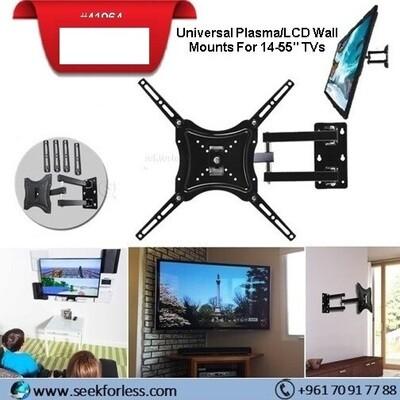"Universal Plasma/LCD Wall Mounts For 14-55"" TVs"