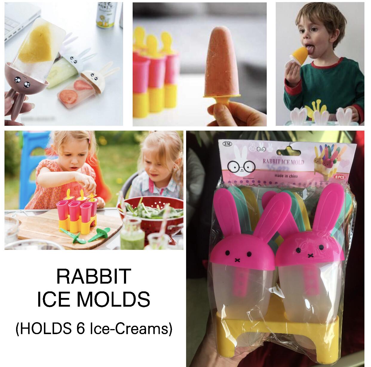 Rabbit Ice Molds