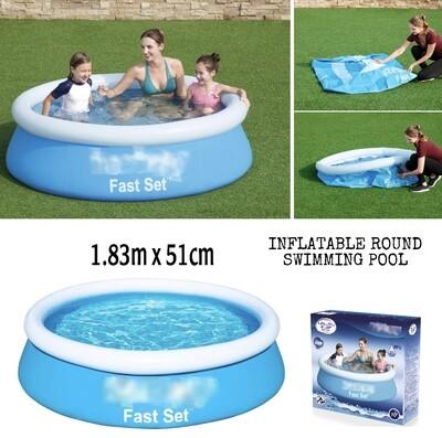 Inflatable Pool 183x51cm