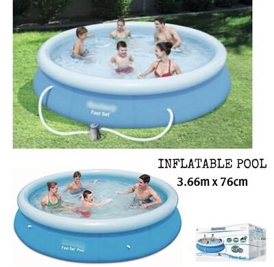 Inflatable Pool 366x76cm