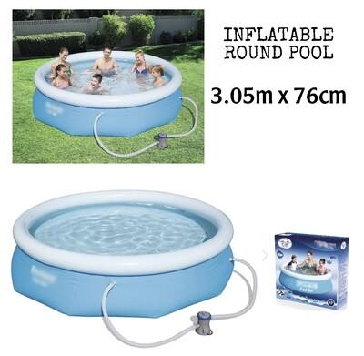 Inflatable Pool 305x76cm