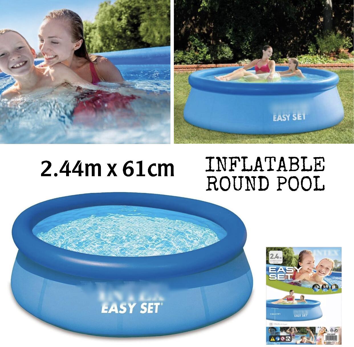 Inflatable Pool 244x61cm