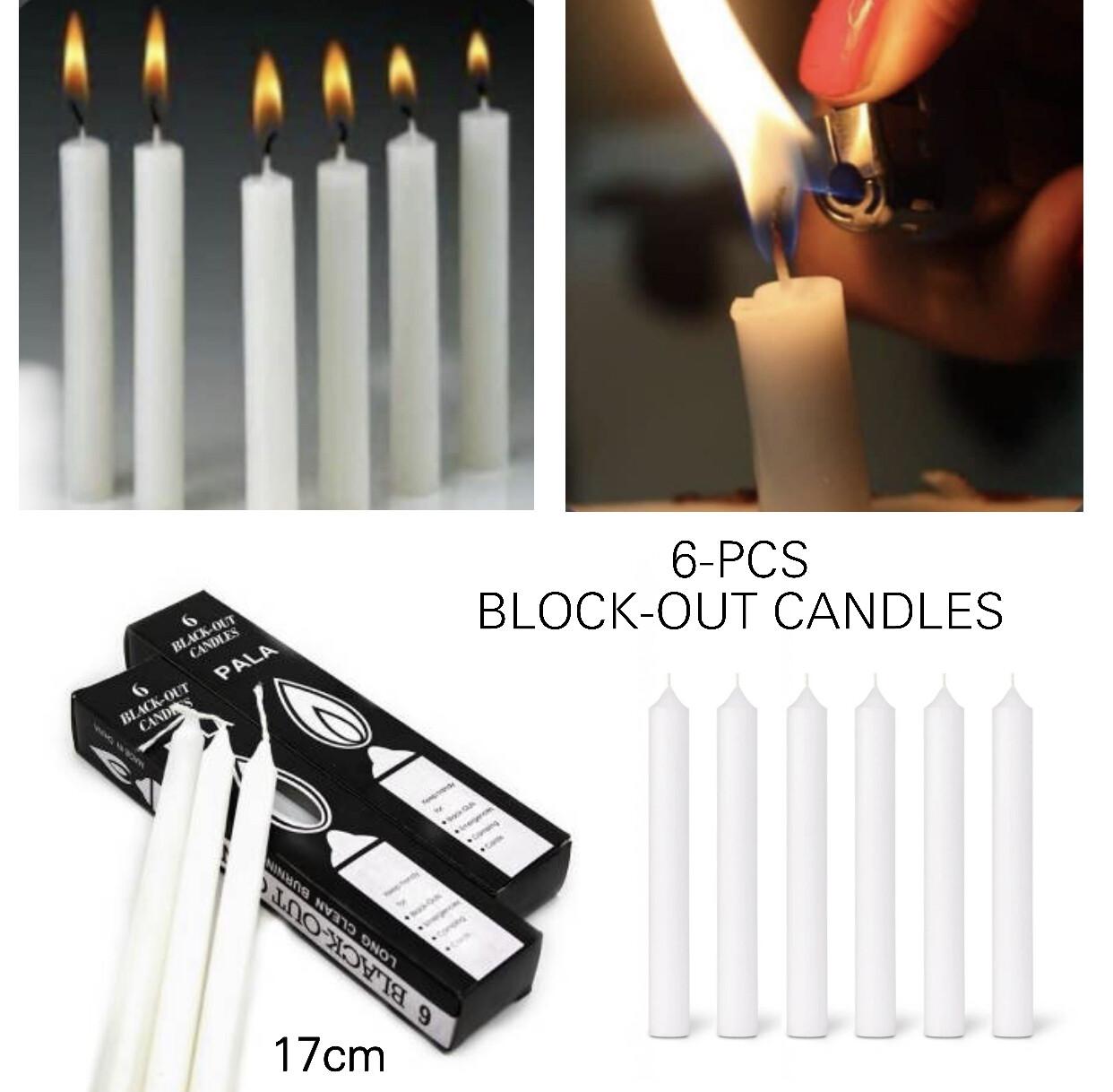 6-Pcs Candles Box