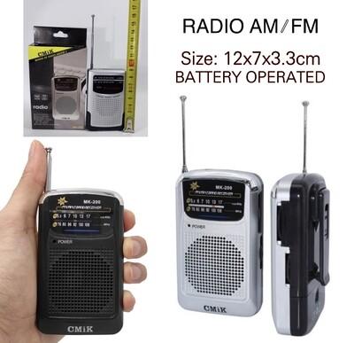AM/FM Radio MK-200