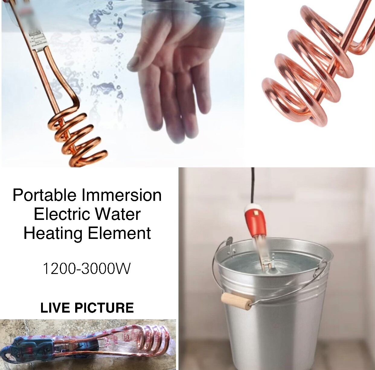 Portable Water Heater