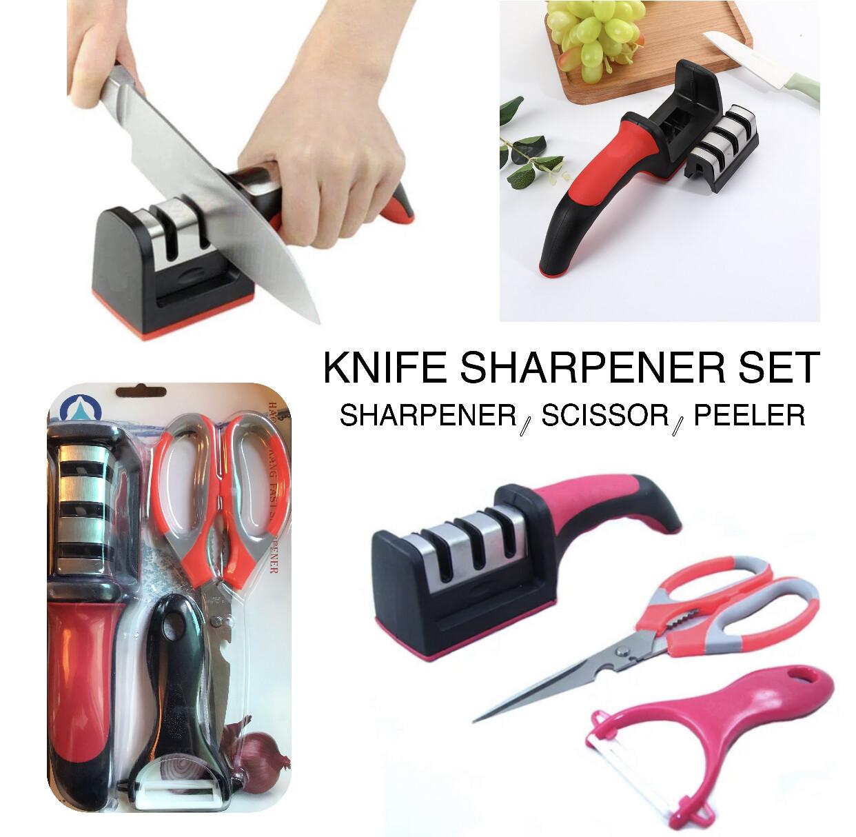 3-Pcs Sharpener Set