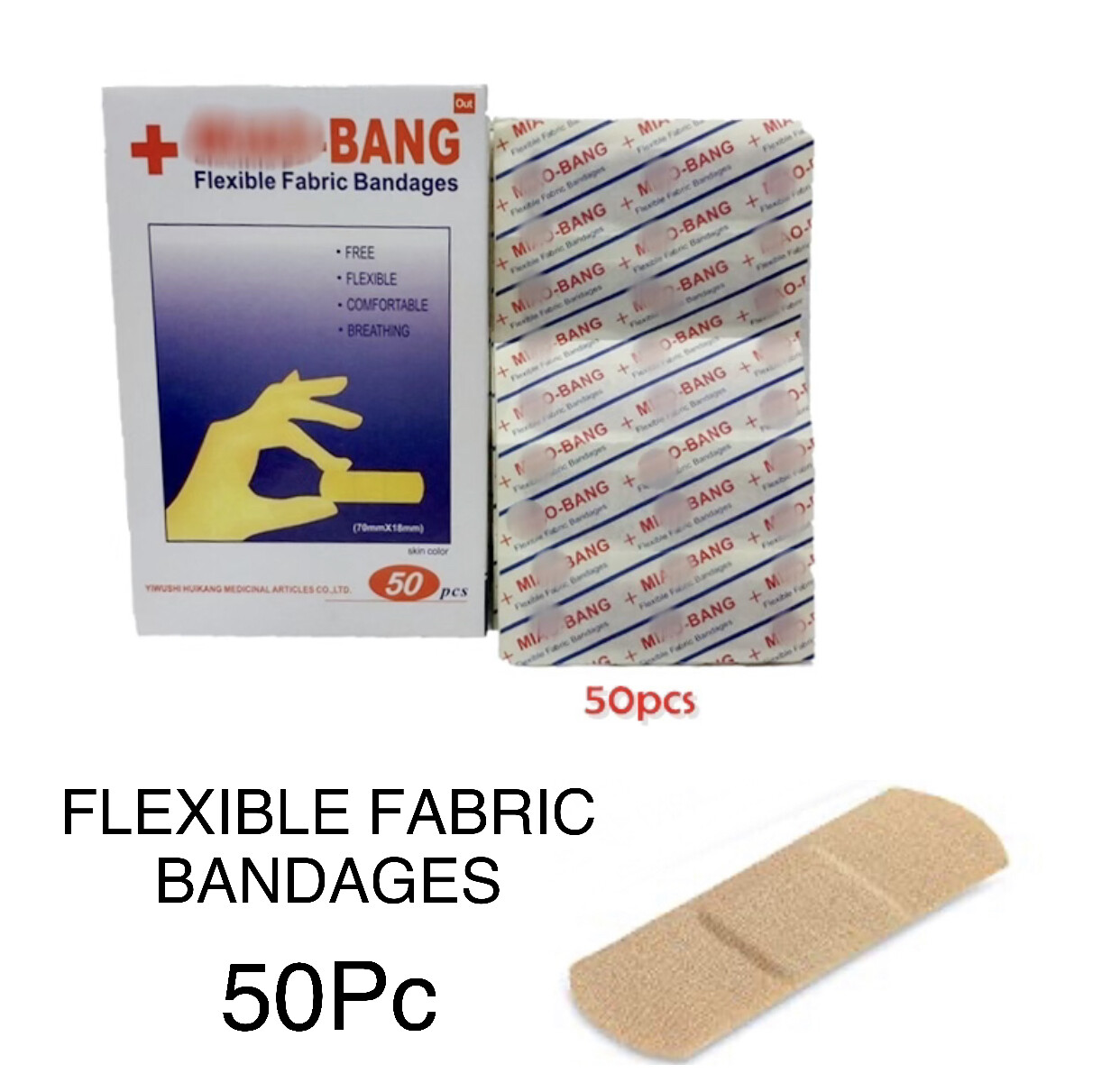 Fabric Bandages (50pc)