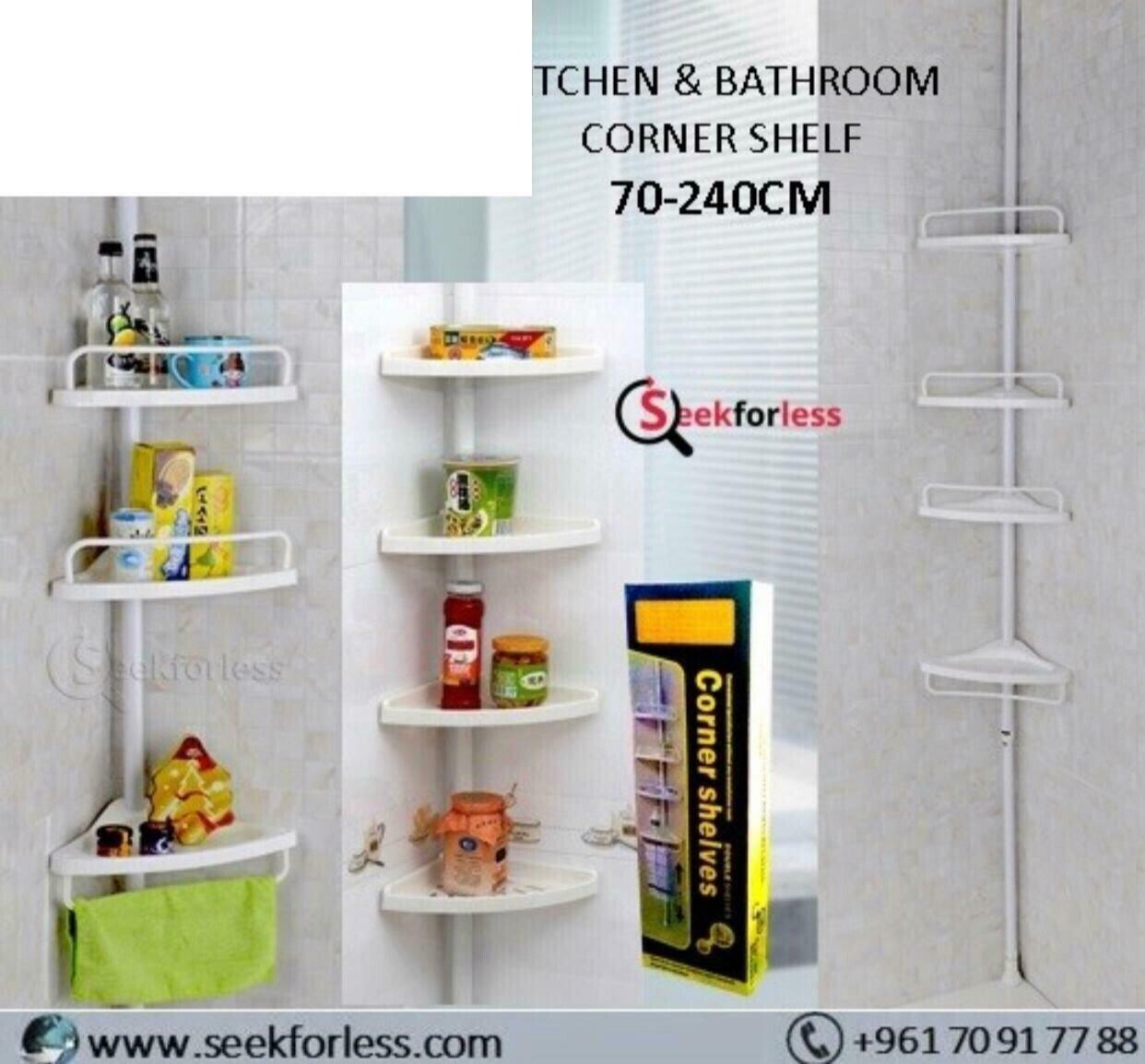 Corner Shelf 4 Layers