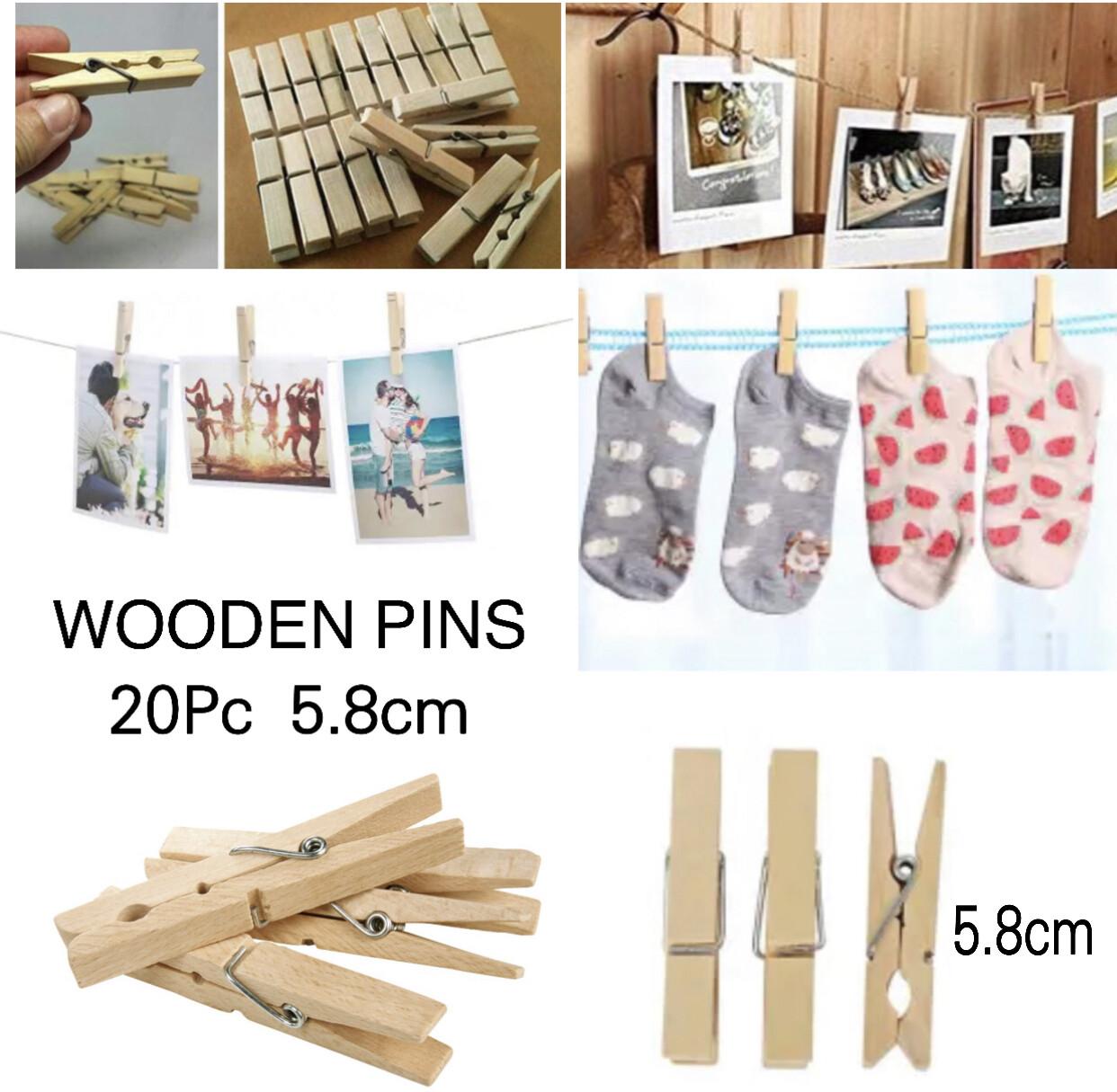 Wooden Pins 5.8cm