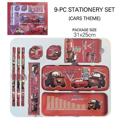 9-Pc Stationery Set