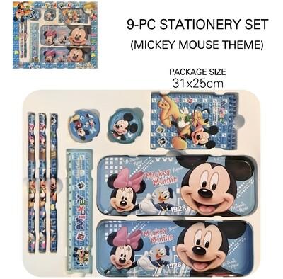 9-Pc Stationery Set (M)
