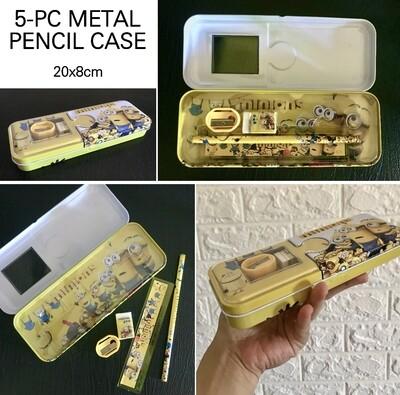 5-Pc Pencil Case