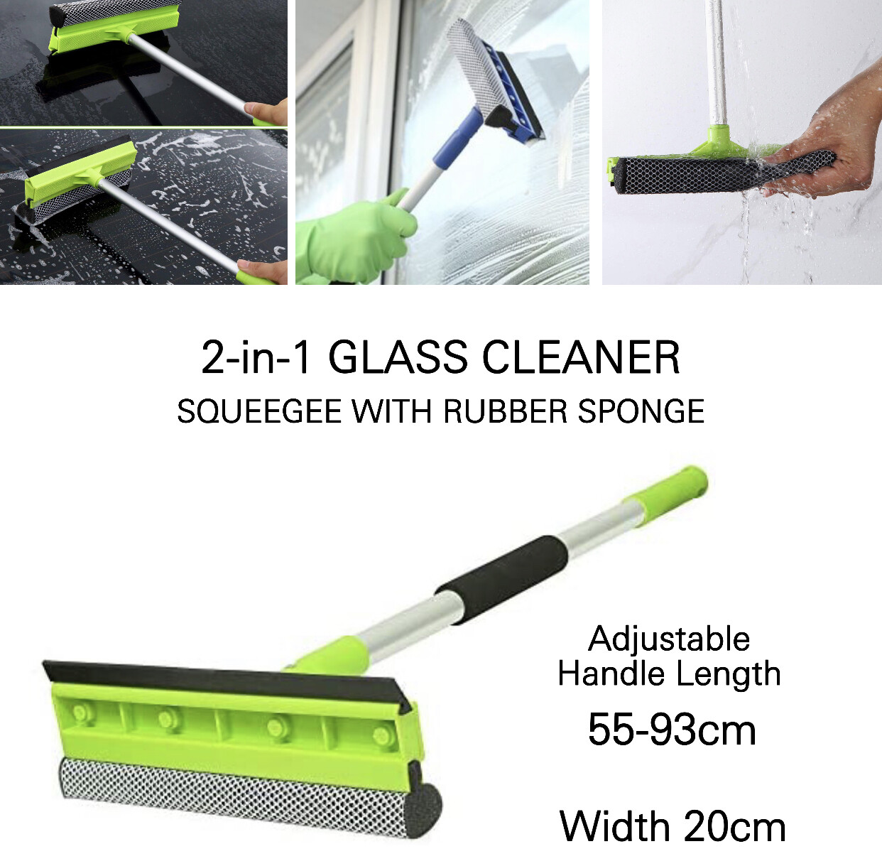 2-in-1 Glass Cleaner
