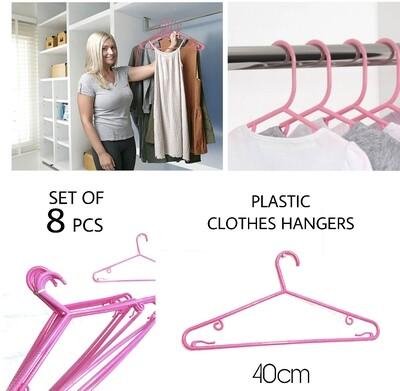8Pcs Clothes Hangers