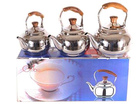 3-Pcs Tea Pot Set