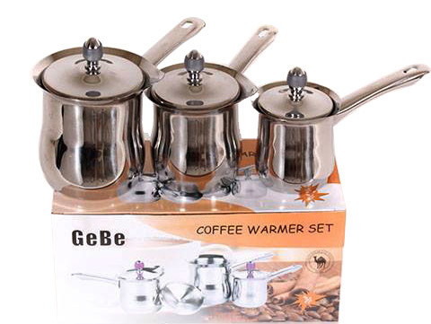 ​3-Pcs Coffee Warmer Set