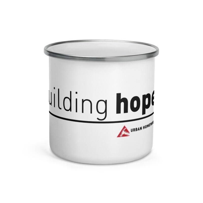 Building Hope Enamel Mug