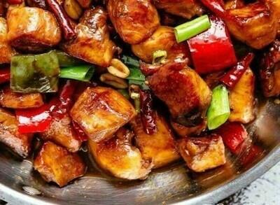 Kung Pao Chicken & Cauliflower Rice