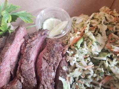 Mojo Skirt Steak & Cilantro Lime Slaw