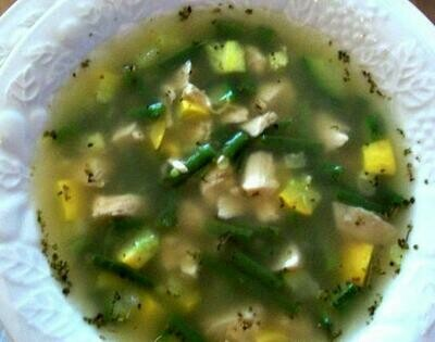 Chicken & Summer Vegetable Soup