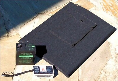Military Solar Battery Charger System
