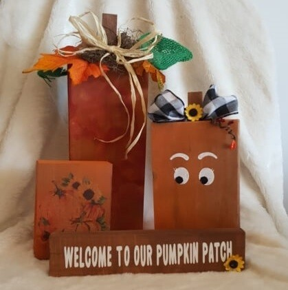 Wooden Pumpkin Workshop - Tues Sept. 28, 2021