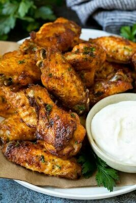 BBC BAKED CHICKEN WINGS