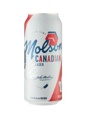 MOLSON CANADIAN TALL BOY