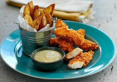CHICKEN STRIPS & WEDGES