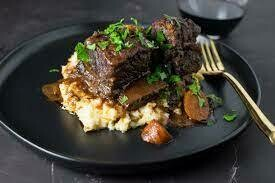 FRIDAY ONLY: BRAISED SHORT RIBS w/ ONTARIO FIDDLEHEADS