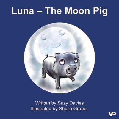 Luna - The Moon Pig - Paperback Book