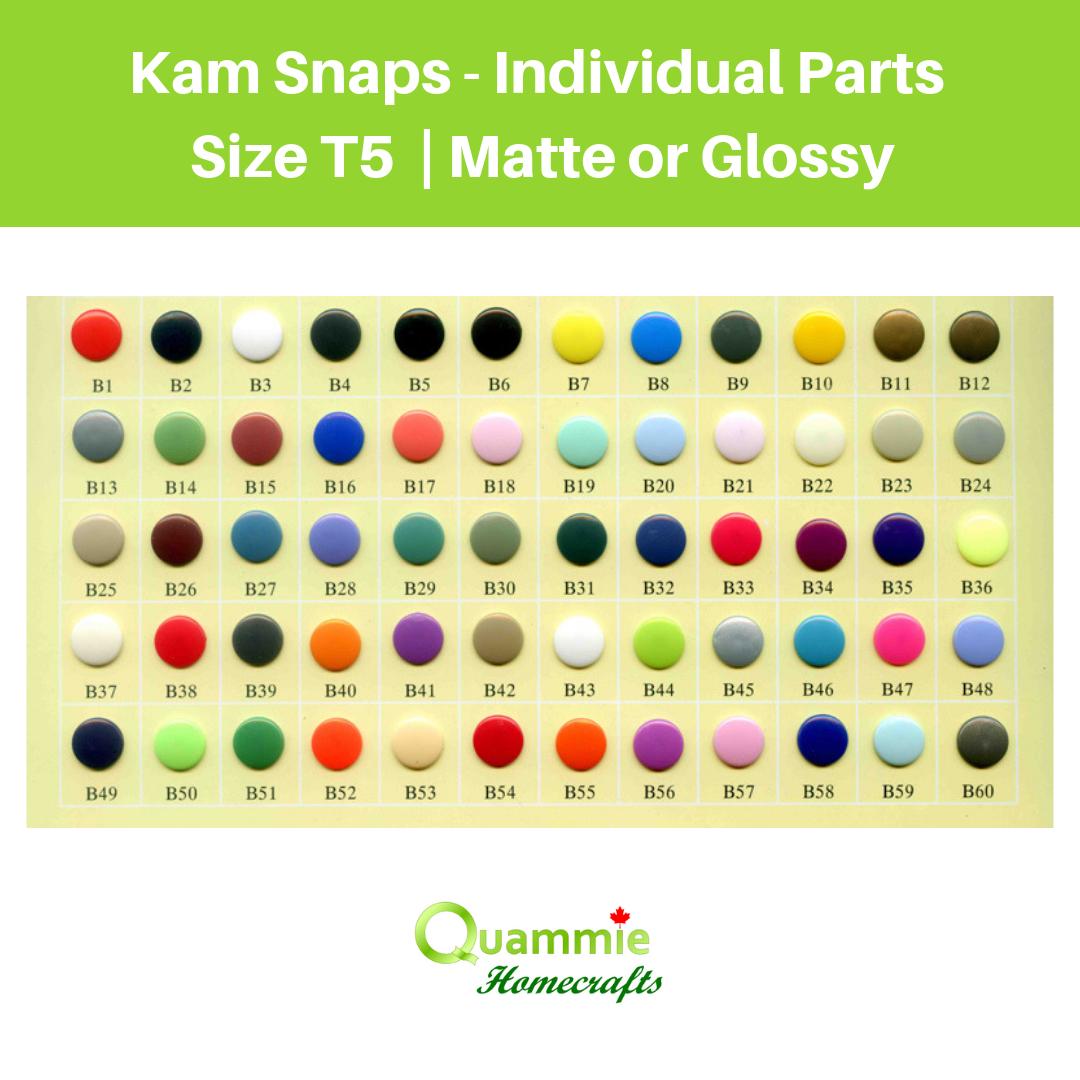 Kam Snaps - Individual Parts - Size 20/T5