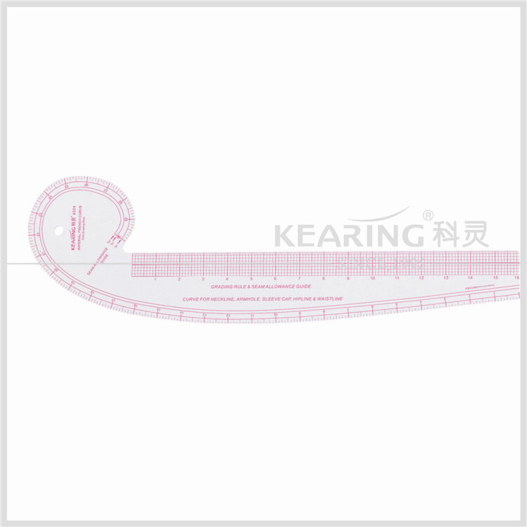 "Kearing 6504 Flexible Curve Ruler - 30"" Curve / 16"" Straight"