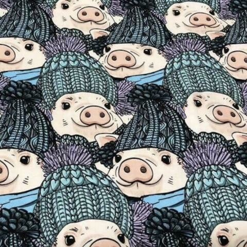French Terry - Pig Toques