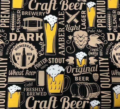 Cotton Lycra Jersey - Beer