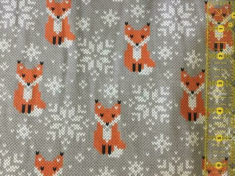 Cotton Lycra Jersey - Fox Sweater