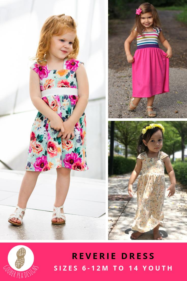 Reverie Dress (PDF Pattern & Tutorial) - Goober Pea Designs
