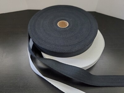 "Twill Tape, Cotton - 3/4"""
