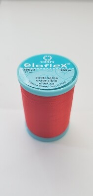 Coats Eloflex Stretchable Thread, 225yds - Atom Red (2160)