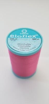 Coats Eloflex Stretchable Thread, 225yds - Hot Pink (1840)