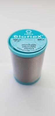 Coats Eloflex Stretchable Thread, 225yds - NuGrey (450)