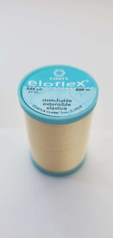 Coats Eloflex Stretchable Thread, 225yds - Yellow (7330)