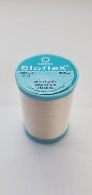 Coats Eloflex Stretchable Thread, 225yds - Natural (8010)