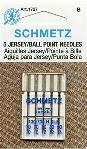Schmetz - Jersey / Ball Point - 130/705H SUK - Variety Pack