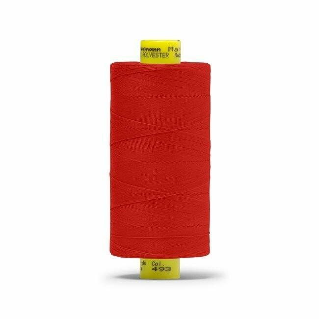491 - Gutermann Mara 70 - 700m / 765 yards (Bright Red)