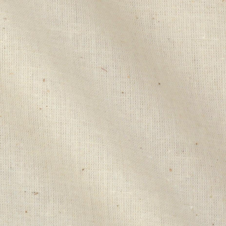 "Unbleached Poly Cotton Muslin, 114"" (per yard)"