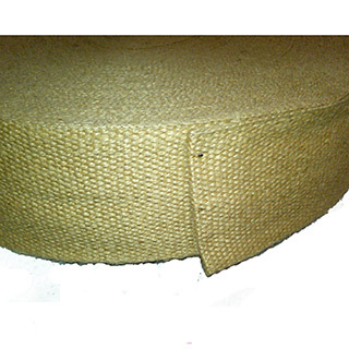 "Jute webbing, 3.25"" - Natural (bulk roll)"