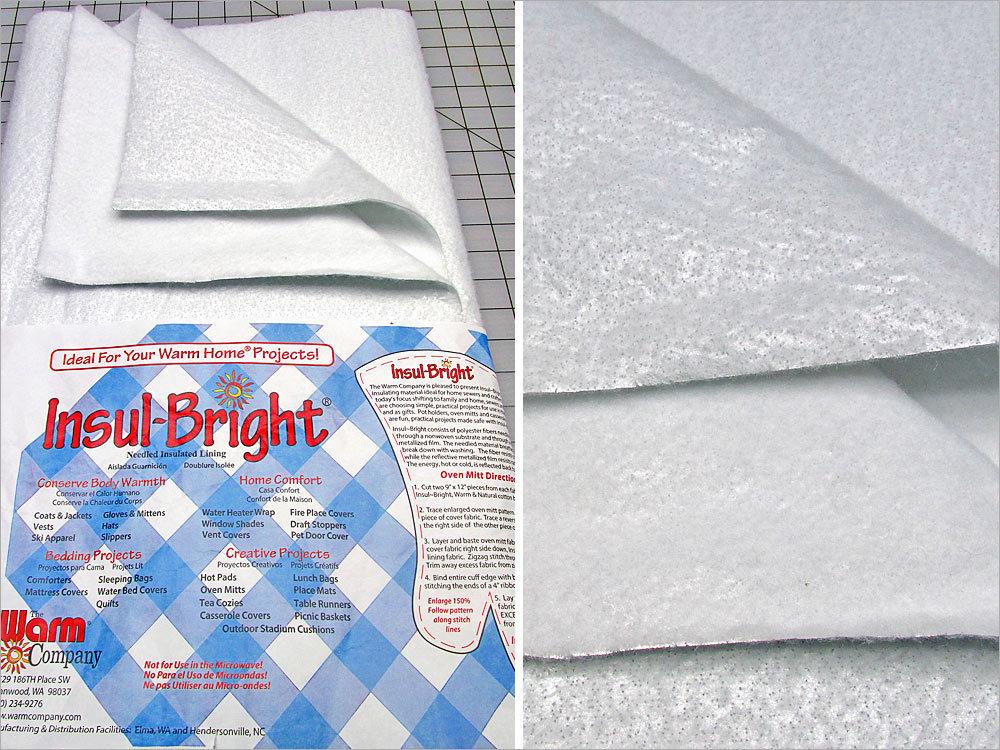 "Insul-Bright Heat Resistant Batting - 22.5"" x 1yd"